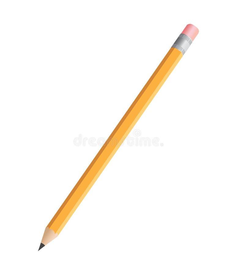 Bleistift stock abbildung