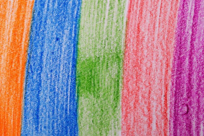 Bleistift und Pastell lizenzfreie stockfotos