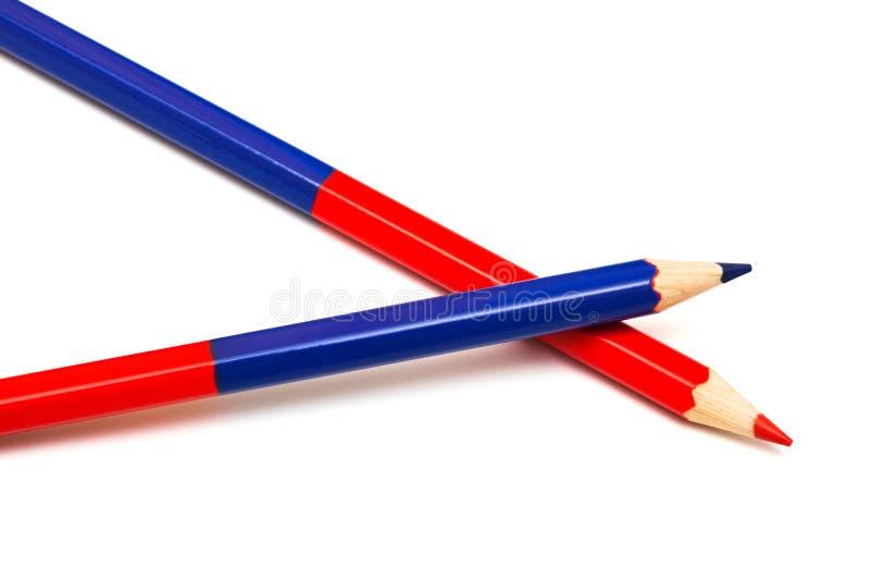 Bleistift zwei lizenzfreie stockfotografie