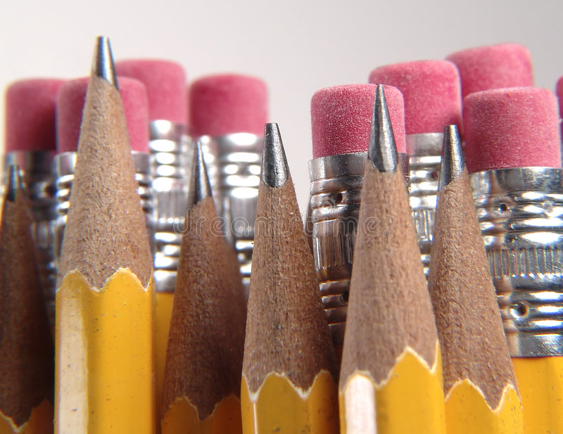 Bleistifte Lizenzfreie Stockfotos
