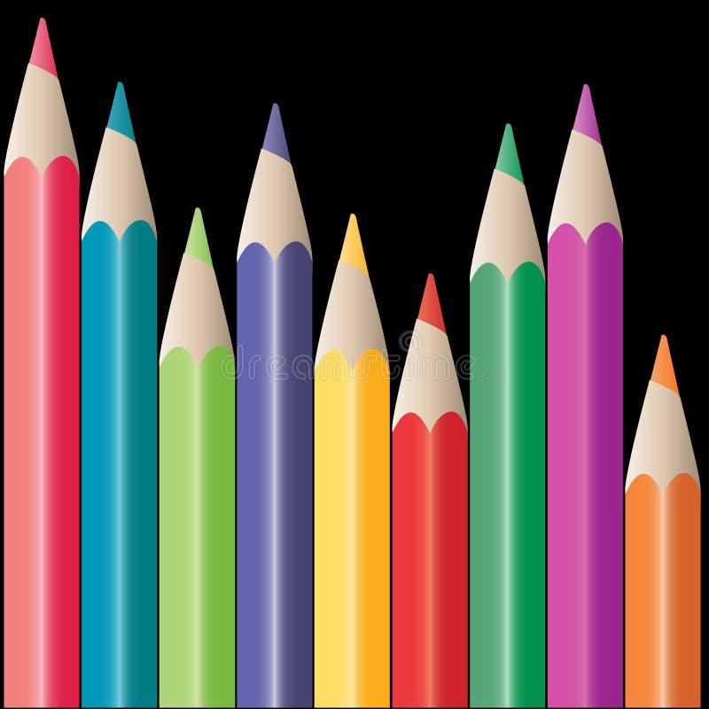 Bleistifte stock abbildung
