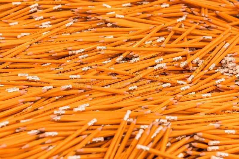 Bleistifte an der Briefpapierabteilung Zur?ck zu Schulkonzeption Einkaufen für Schule, College, Universität stockfoto