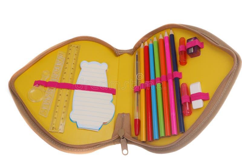 Bleistiftkasten lizenzfreies stockbild