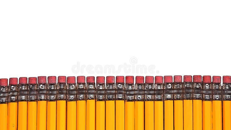 Bleistiftzaun stockbild