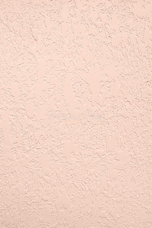 Blekt - bakgrund för kulör låg kontrast för rosa färger konkret texturerad med kärvhet och oriktigheter arkivbild