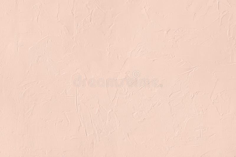 Blekt - bakgrund för kulör låg kontrast för rosa färger konkret texturerad med kärvhet och oriktigheter royaltyfri bild