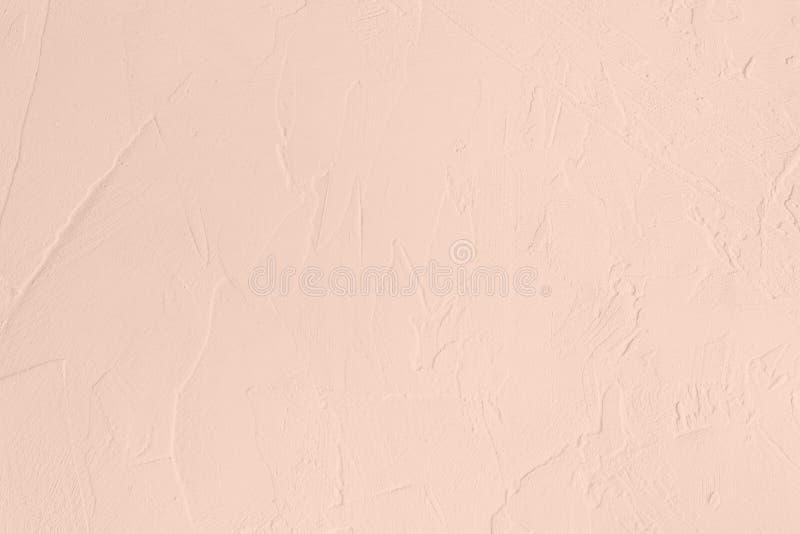 Blekt - bakgrund för kulör låg kontrast för rosa färger konkret texturerad med kärvhet och oriktigheter royaltyfria bilder
