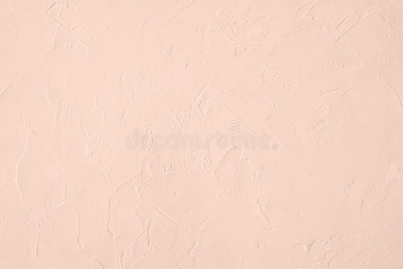 Blekt - bakgrund för kulör låg kontrast för rosa färger konkret texturerad med kärvhet och oriktigheter arkivbilder