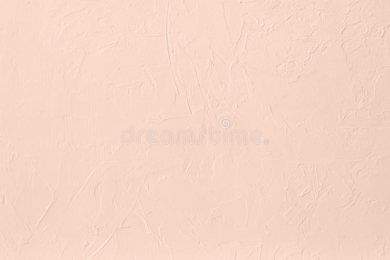 Blekt - bakgrund för kulör låg kontrast för rosa färger konkret texturerad med kärvhet och oriktigheter fotografering för bildbyråer