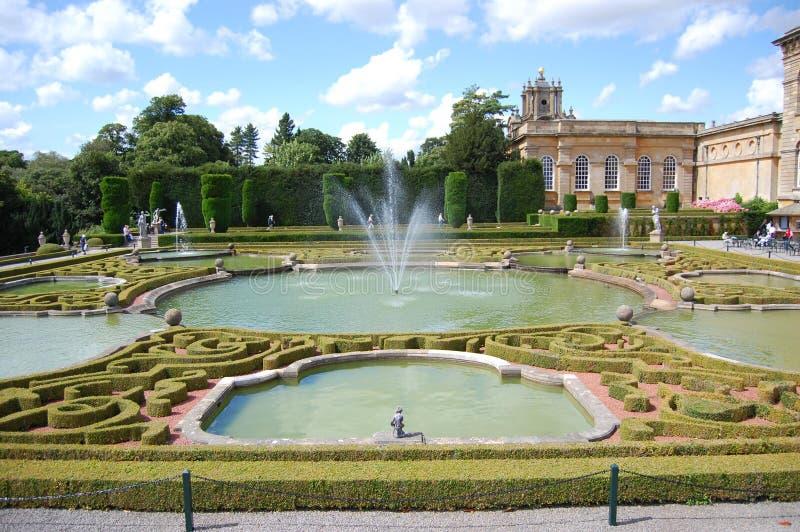 Blenheim pałac obraz royalty free