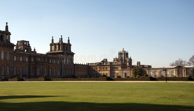Download Blenheim Palace And Grounds Stock Photo - Image of formal, windows: 18971360