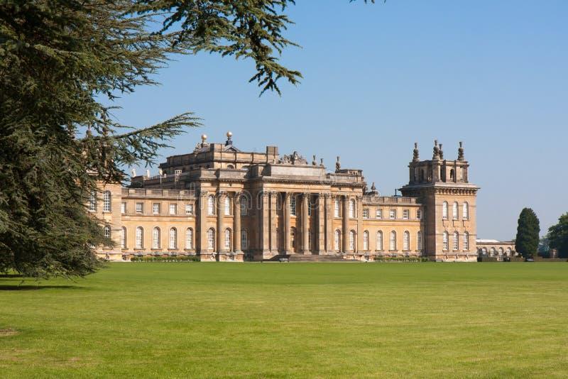 Blenheim Palace, Oxford stock image