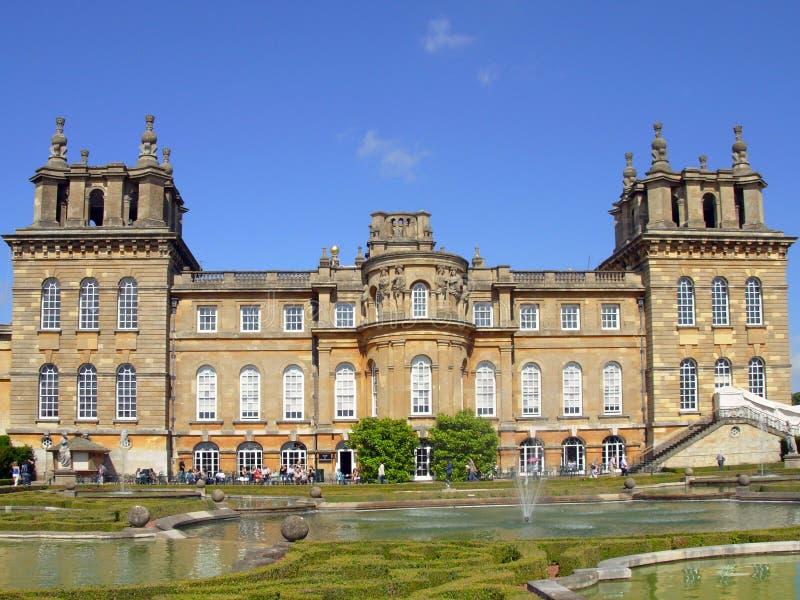 Blenheim Palast lizenzfreies stockbild