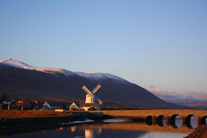 Blennerville Windmill royalty free stock photo