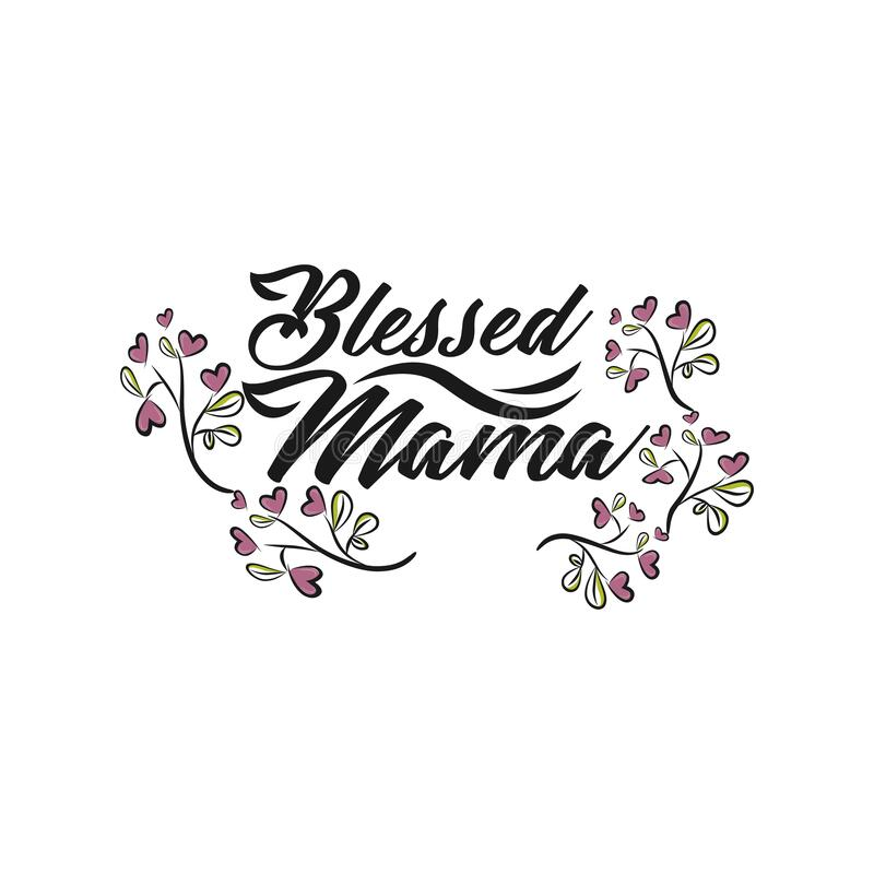 Sublimation Design Blessed Mama Grey Polka Dot Background Spring Clipart Print at Home Design PF107 Flowers in Mason Jar PNG File