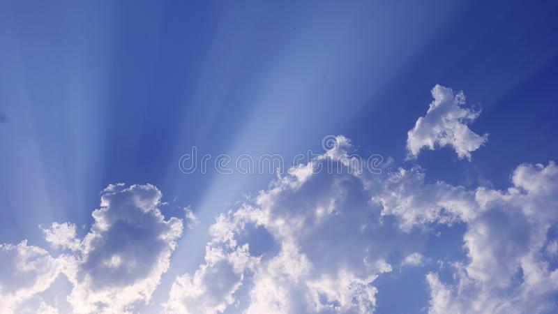 The blessing of skies royalty free stock photography