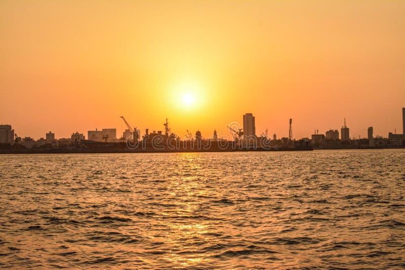 Blessure Mumbai de mer photographie stock libre de droits