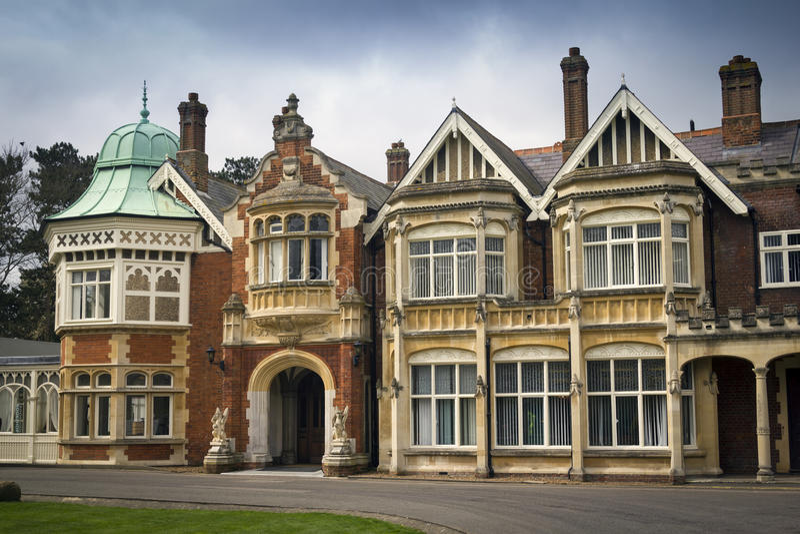 Bletchley parkerar royaltyfria foton