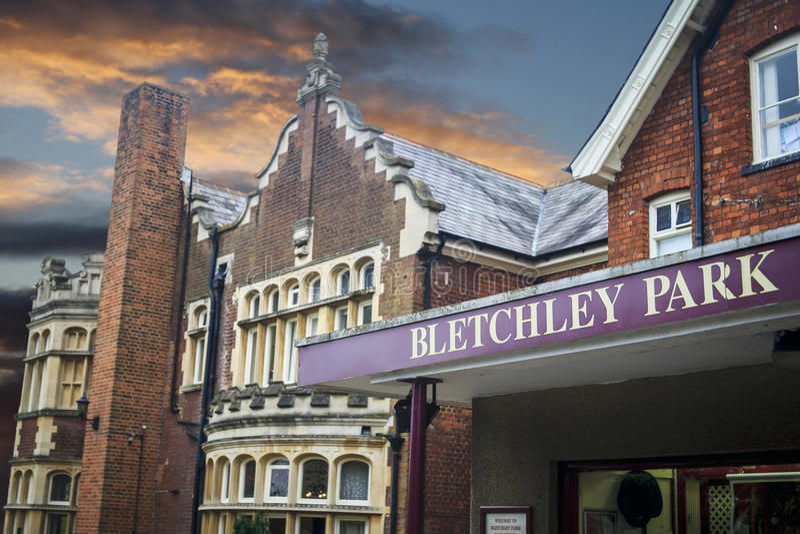 Bletchleypark royalty-vrije stock foto