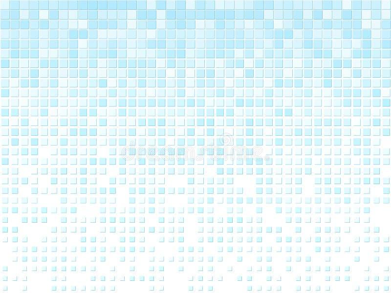 Bleu abstrait illustration libre de droits