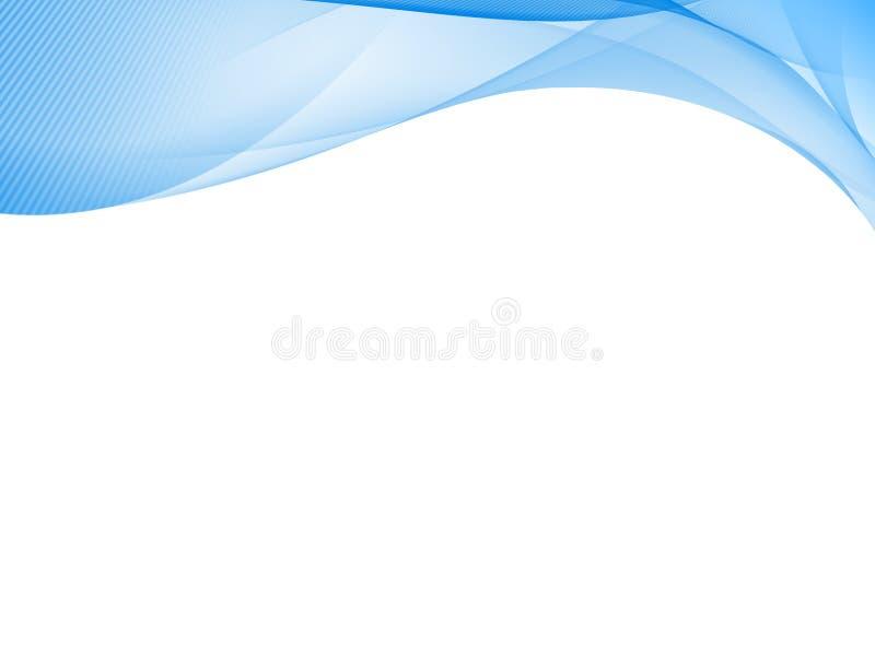 bleu abstrait de fond illustration stock