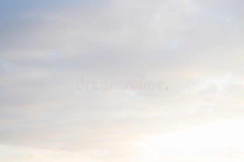 Bleu beau ciel abstrait arrière-plan photographie stock