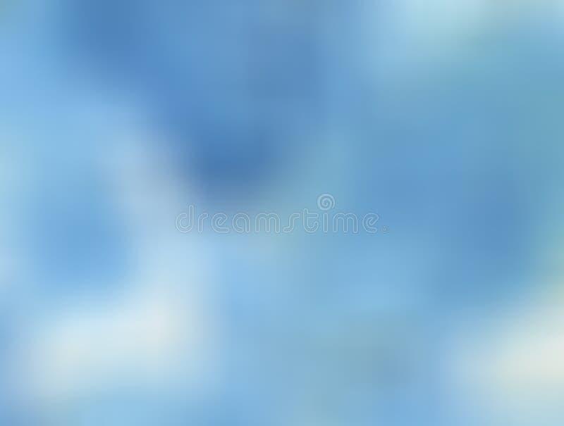 Bleu brouillé illustration libre de droits