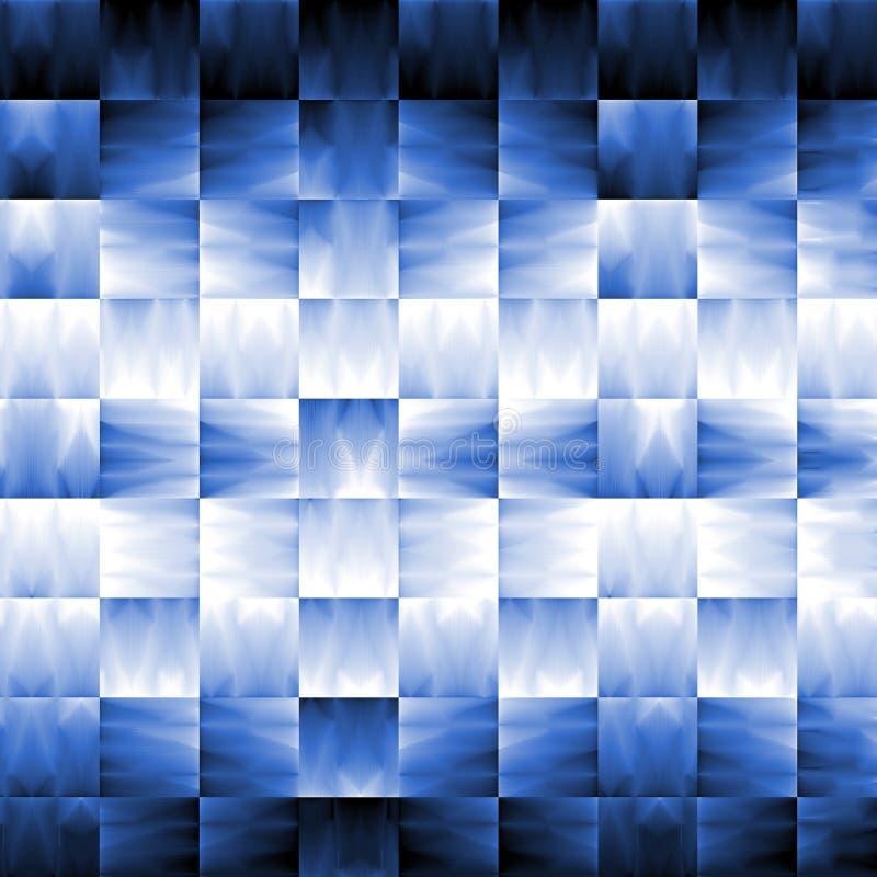 Bleu d'abstrait avec l'effet de la lumière illustration libre de droits
