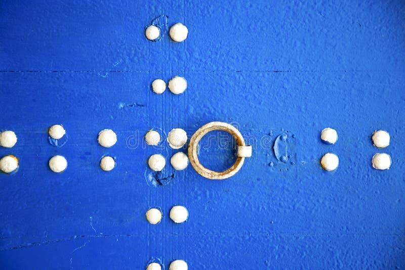 bleu dans le mur et l'abrégé sur de texture image libre de droits