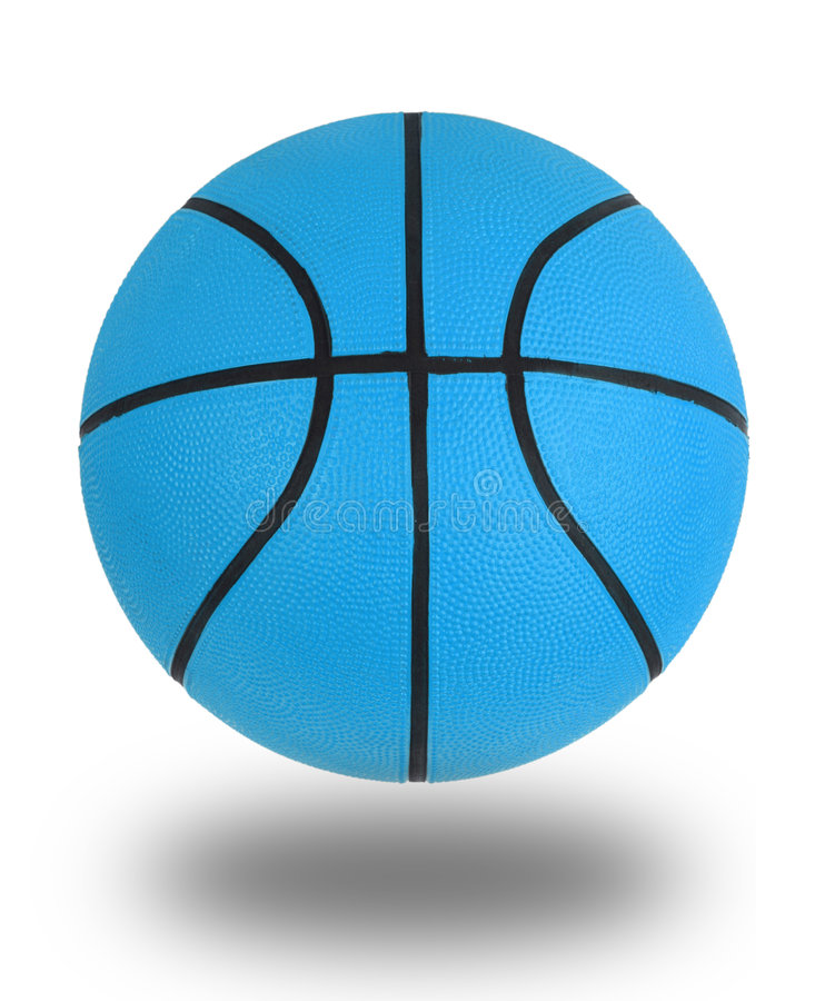 bleu de basket-ball images libres de droits