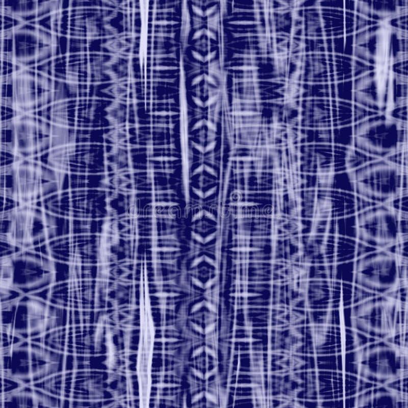bleu de batik illustration stock