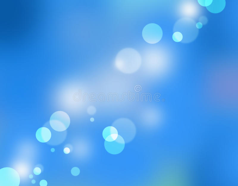 Bleu de Bokeh images stock