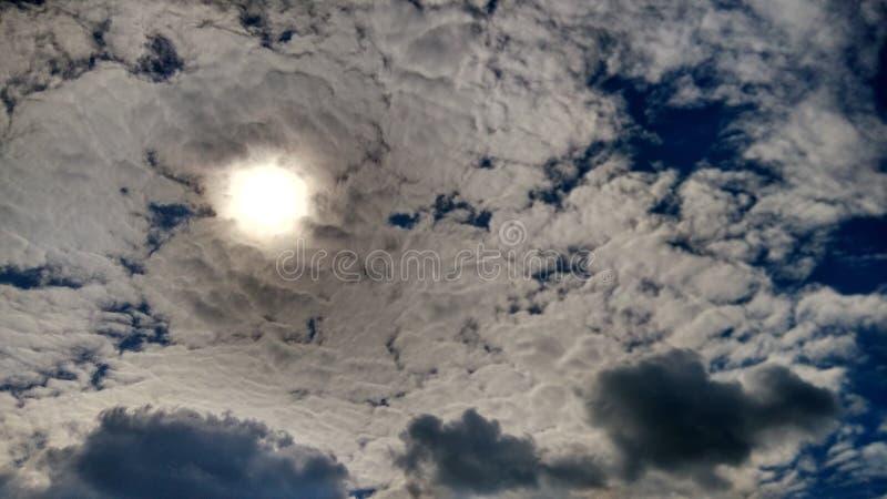 bleu de ciel de nuage photo libre de droits