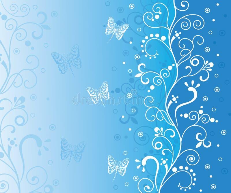 bleu de fond illustration stock