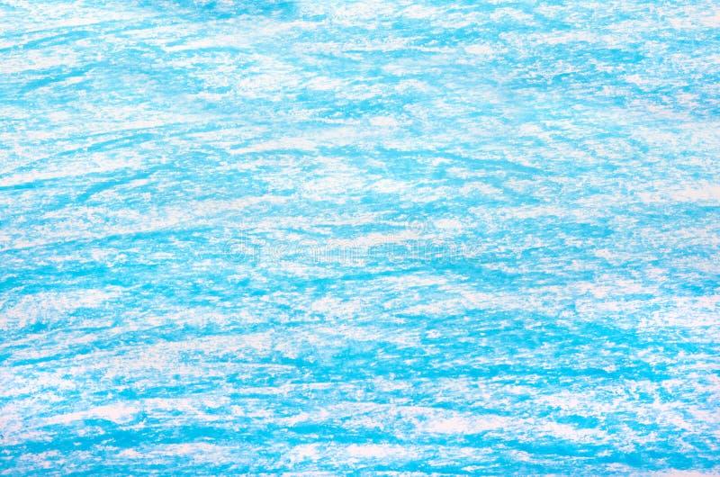 Bleu de fond de crayon illustration libre de droits