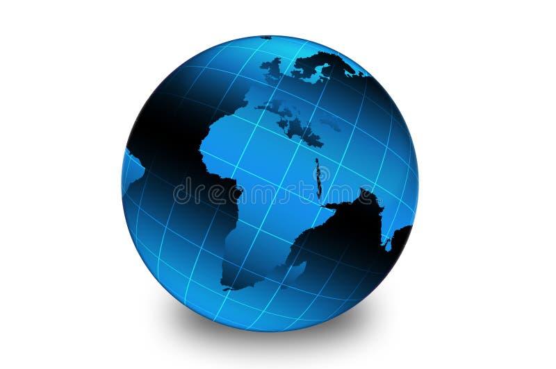 Bleu de la terre images libres de droits