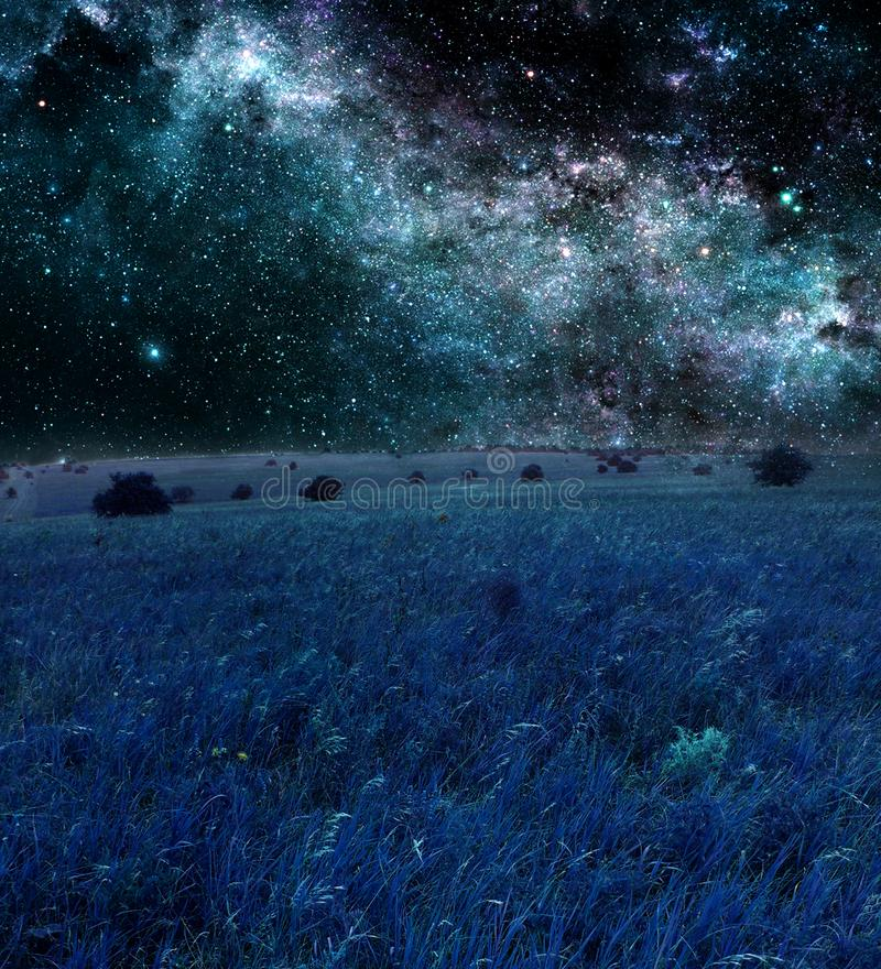 Bleu de nuit image libre de droits