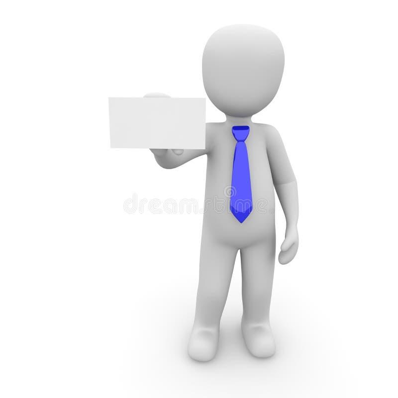 Bleu de patron illustration libre de droits