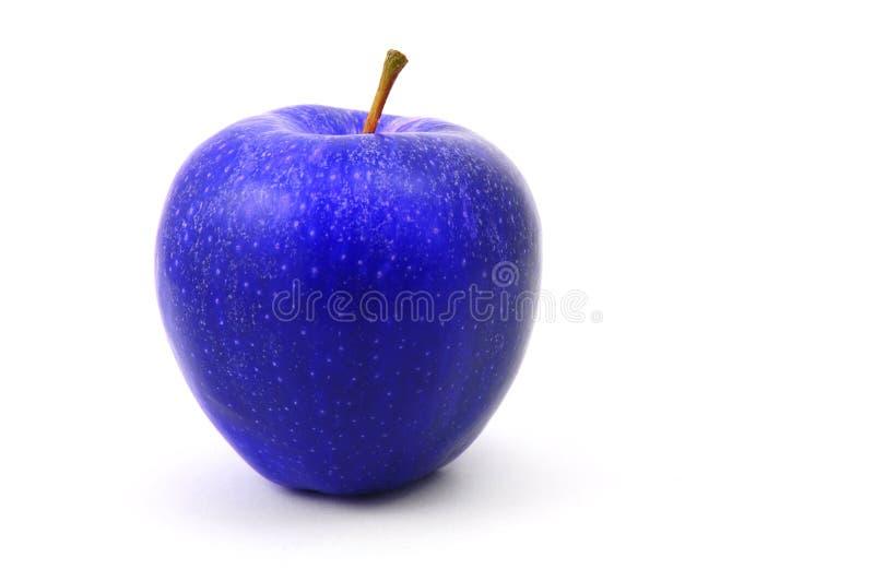 bleu de pomme images stock