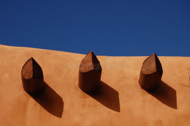 Bleu de Santa Fe images libres de droits