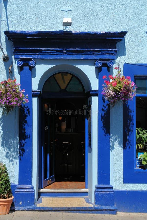 Bleu de Tenby photographie stock