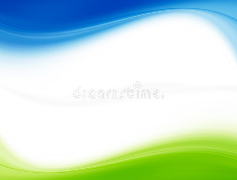 Bleu et vert image libre de droits