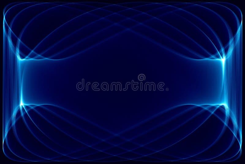 Bleu-foncé Et Noir Abstraits Photographie stock