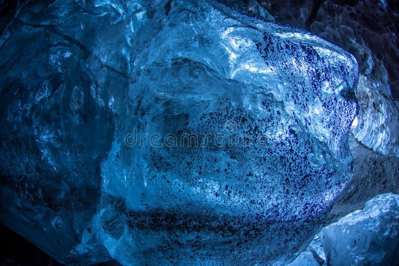 Bleu glacier bleu photo stock