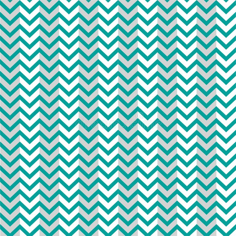 Bleu Grey Background Zigzag de modèle illustration stock