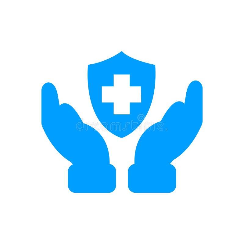 bleu illustration de vecteur