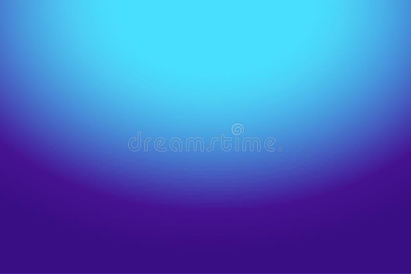 Bleu pourpre abstrait coloré au fond de gradient de bleu de ciel pour votre conception graphique images libres de droits