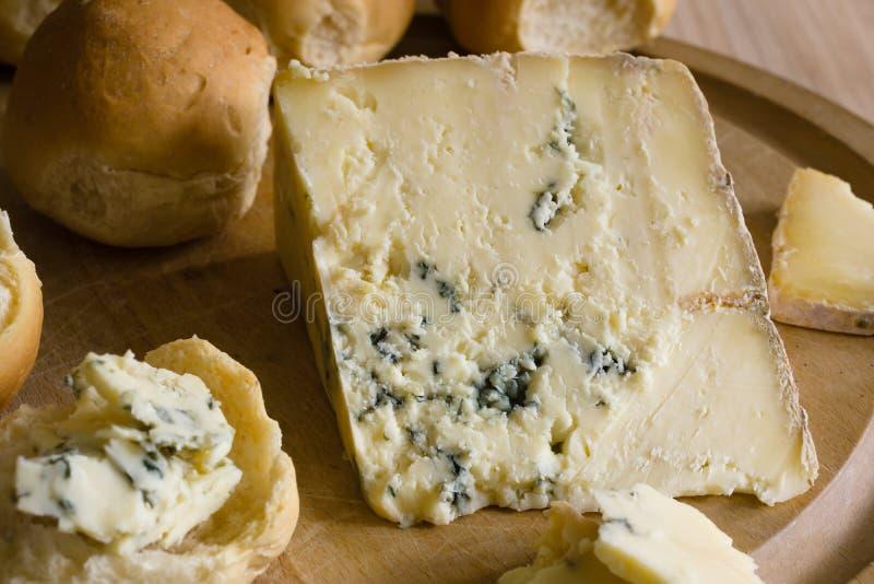 Bleu Vinny Cheese de Dorset photo stock