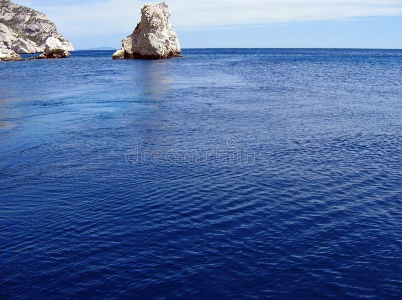 Bleue de mer de La photos stock