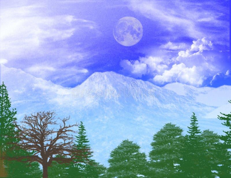 Bleus de l'hiver images libres de droits